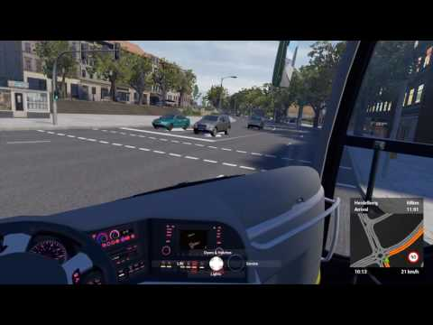 Coach Bus Simulator 2016 - Gameplay 4K