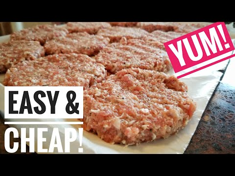 Creating The PERFECT Breakfast Sausage Recipe!