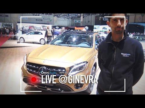 MercedesGLA restyling | Salone di Ginevra 2017