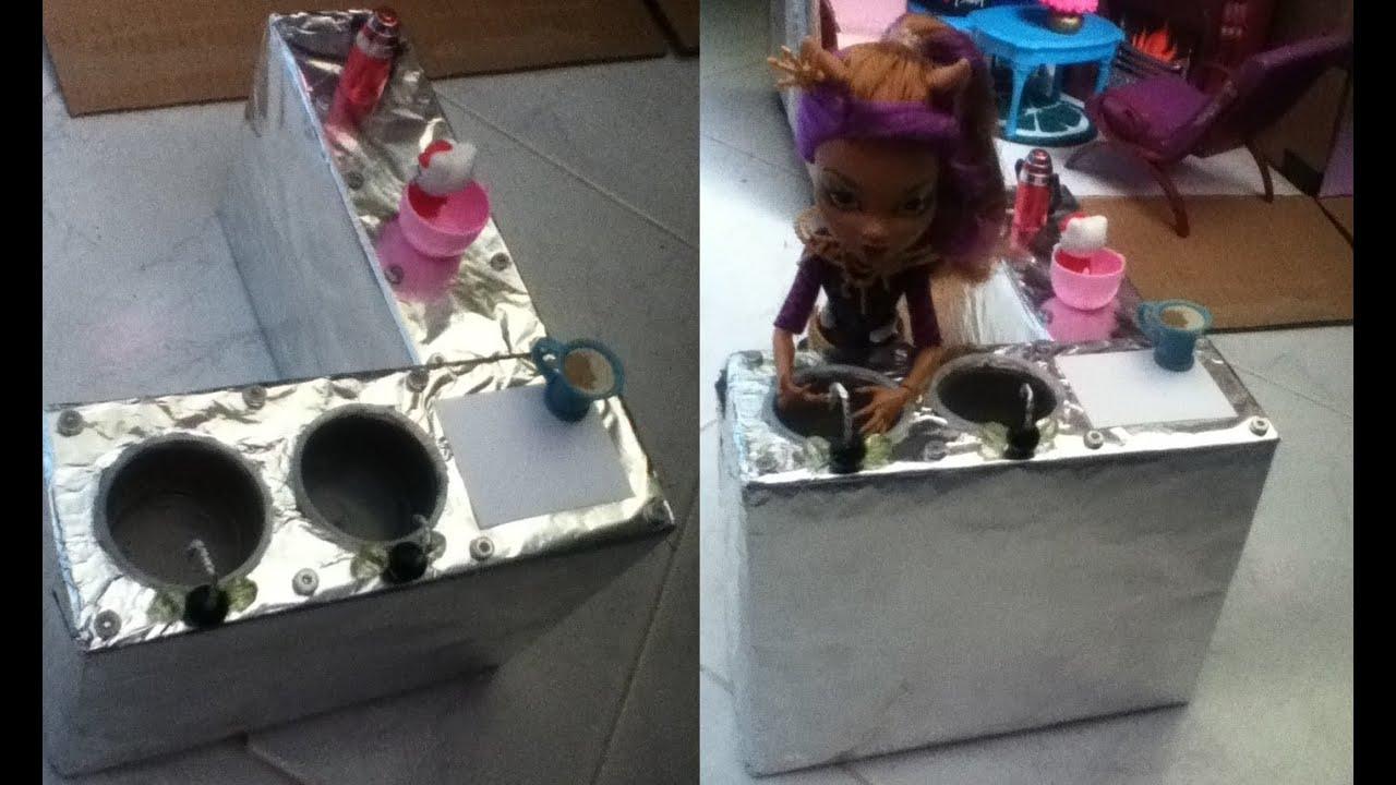 Tutorial como hacer un lavabo o lavadero para mu ecas for Como se hace una pileta de material
