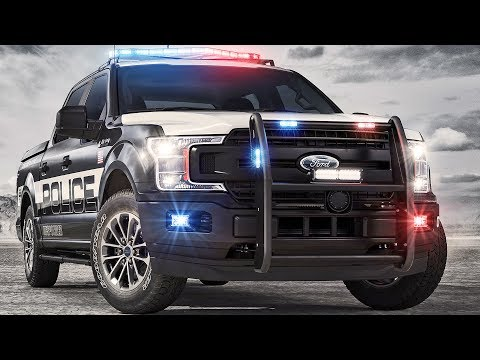 Ford F 150 POLICE Responder 2018 To Protect Serve