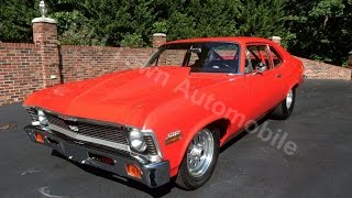 1972 Nova Pro Street, red, for sale Old Town Automobile in Maryland