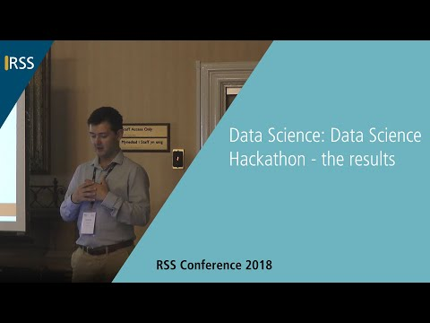 Data Science Hackathon - The Results