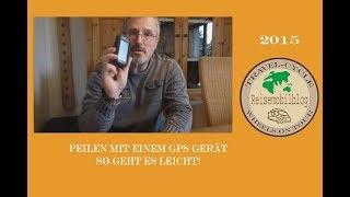Peilen mit einem GPS Gerät