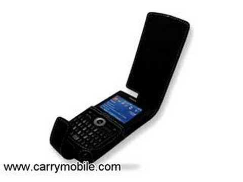 CarryMobile Leather Case for Samsung SGH-i600 - Flip Type (B