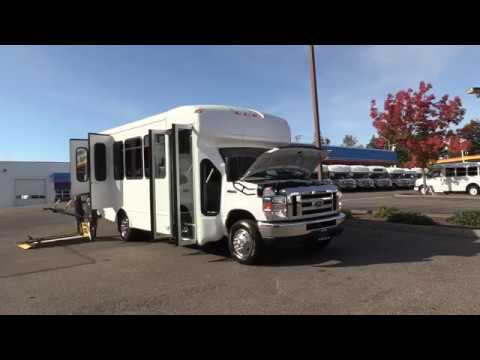 2019 Ford Starcraft Allstar 12 Passenger + 2 Wheelchairs Shuttle Bus - S21561