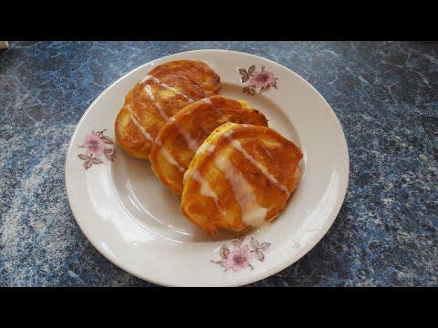 Оладьи из Тыквы Сладкие Вкусные Простые