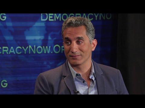 "Bassem Youssef, ""Jon Stewart of Egypt,"" Moves to U.S. & Begins Satirizing Election Season"