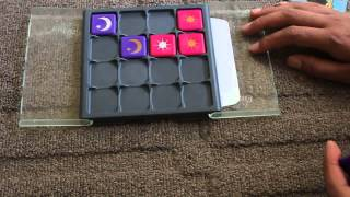 Rubik's Eclipse, a Strategy Game of Moon and Sun