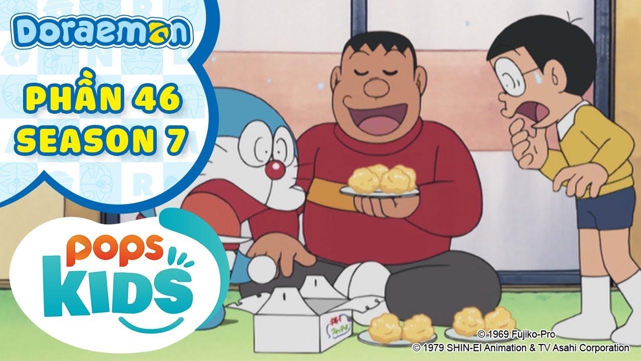 [S7] Tuyển Tập Hoạt Hình Doraemon - Phần 46 - Chaien Đến Nhà Ăn Chực, Búi Tóc Kết Giao Bạn Bè