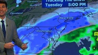 Winter storm targets Northeast, Mid-Atlantic