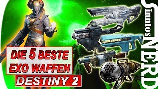 DIE 5 STÄRKSTEN/BESTEN exotischen Waffen | Review - deutsch | Destiny 2