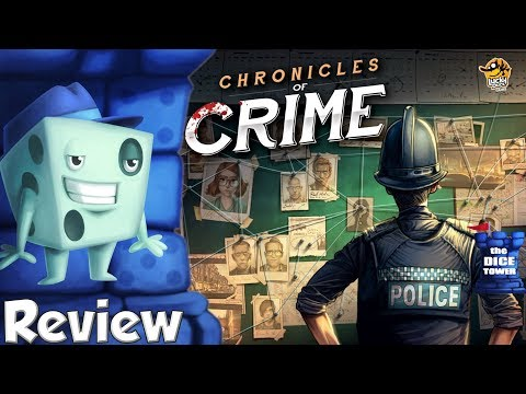 Chronicles of Crime Review - with Tom Vasel