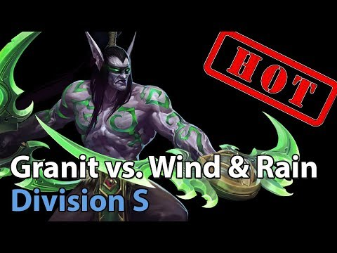 ► Heroes of the Storm: Granit Gaming vs. Wind and Rain - Division S