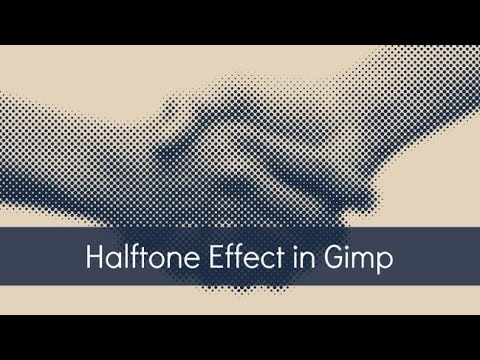 How To Make A Halftone Effect In Gimp Doovi