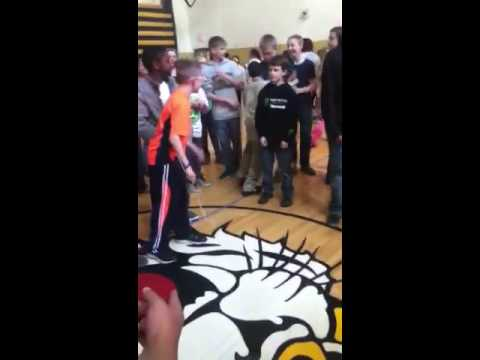 Woodford county middle school Harlem shake