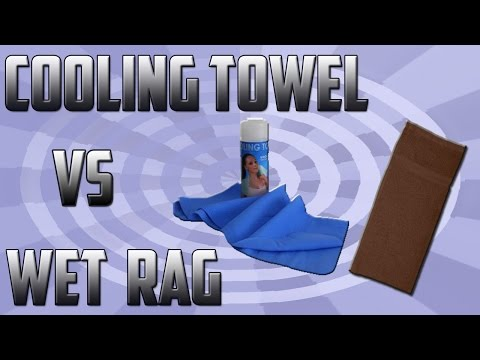 Do Cooling Towels Actually Work? ( I COOL VS WET RAG)