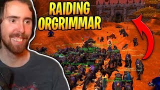 Asmongold Raids ORGRIMMAR In The Classic WoW Beta!