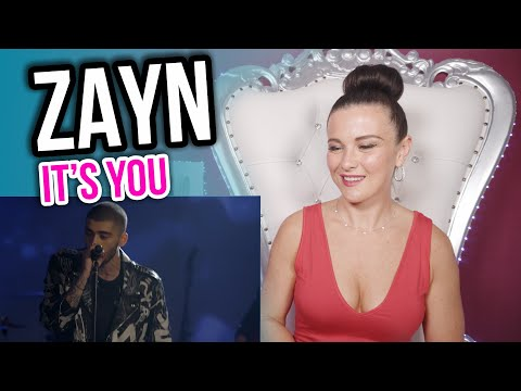 Vocal Coach Reacts To ZAYN - IT's YoU LIVE