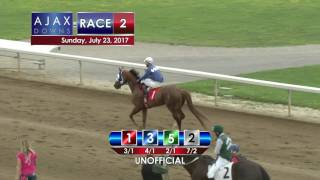 Ajax Downs July 23, 2017 Race 2