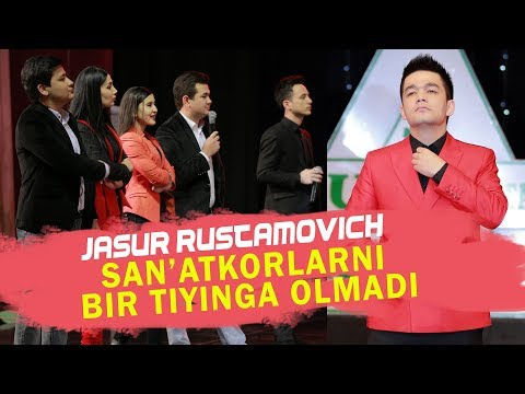 JASUR RUSTAMOVICH - XORAZM SANATKORLARINI BIR TIYINGA OLMADI (DIPLOMAT 2017)