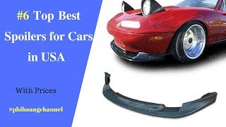 Top 6 Best Spoilers for Cars in USA – Best Car Products 2018