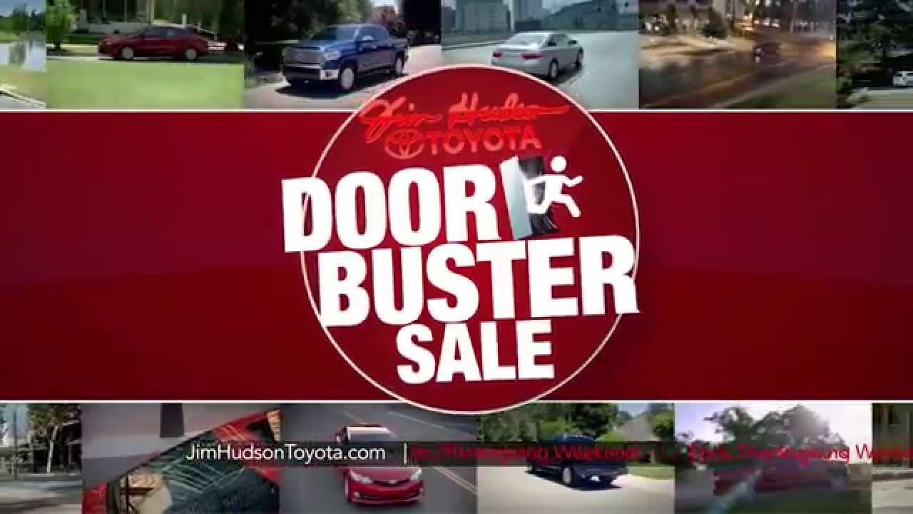 Door Buster Sale at Jim Hudson Toyota! & Door Buster Sale at Jim Hudson Toyota! - YouTube
