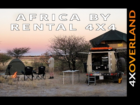 EARTH'S SHADOW. Africa by Rental 4x4 2/6. Andrew St Pierre White