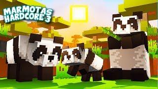 Fizemos uma FAMÍLIA de PANDAS! - Minecraft Marmotas Hardcore 3 #06