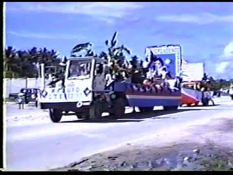 Constitution Day Celebration, Majuro Marshall Islands 1989