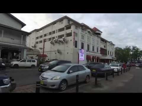 Walking around Paramaribo, Suriname August 2016 video 3