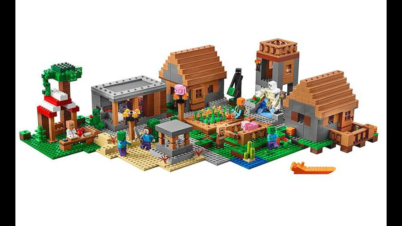 The Village Lego Minecraft 21128 Designer Video