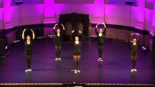 slanteddance christmas show 2011- adult beginner ballet piece