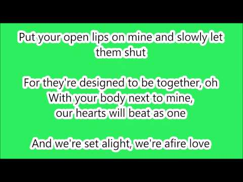 Ed Sheeran - Afire Love LYRICS (HD)
