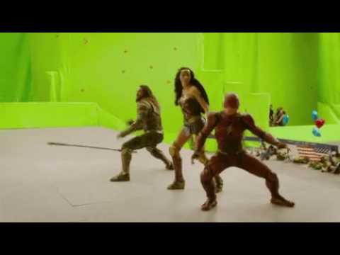 Justice League kamera arkası