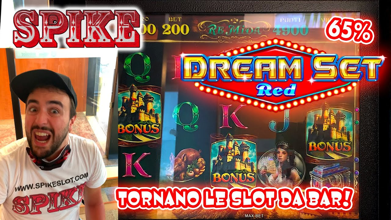 SLOT MACHINE da BAR - Provo la Nuova DREAM SET RED al 65%