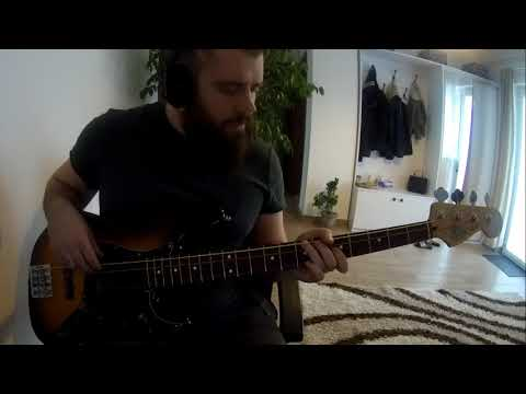 clutch - elephant riders - bass cover