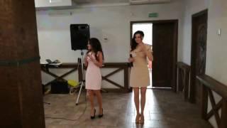 Песня в подарок молодоженам Виктории и Василию