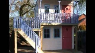 Custom Built Childrens Playhouses