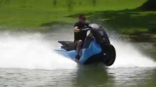 Gibbs Amphibians мотоцикл-амфибия Biski