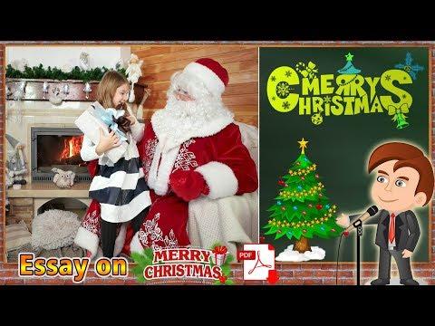Видео Essay on christmas season