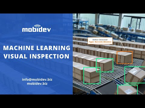 Machine Learning / Computer Vision-based Visual Quality Inspection