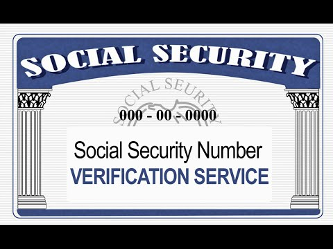 Social Security Administration Verification