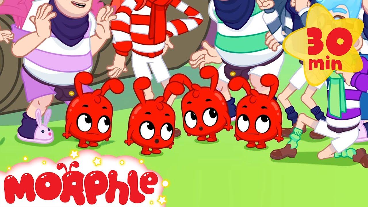 Multiple Morphle Mayhem - Cartoons for Kids | My Magic Pet Morphle