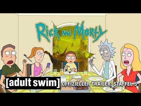 OFFIZIELLER TRAILER: Rick And Morty Staffel 5   Adult Swim