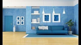 Beautiful Blue Living Room Interior Design Ideas
