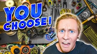 GIVING AWAY MY PRO SCOOTER PARTS..