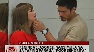 Watch 24 oras regine velasquez nagsimula na sa taping para sa quot poor