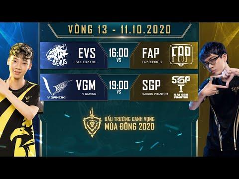 FAP có chiến thắng tuyệt đối, SGP chính thức vào Chung kết - Vòng 13 Ngày 2 - ĐTDV mùa Đông 2020