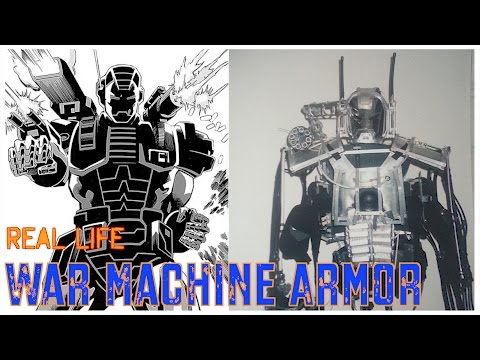 Real War Machine armor/Iron Man Suit
